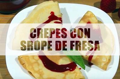 crepes-con-jarabe-de-fresas