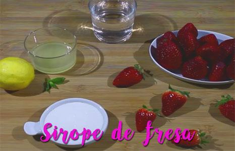 sirope-de-fresa